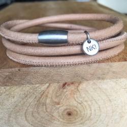Bracelet 3 tours cuir...