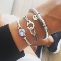 Bracelet 1 tour cuir...