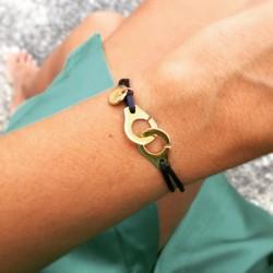 Bracelet cordon Menottes...