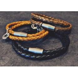 Bracelet Homme - cuir...