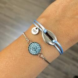 Duo Bracelets «bleu»...
