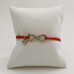 Bracelet cordon Infini -...