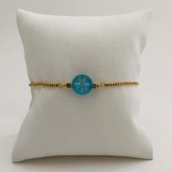 Bracelet chaînette Résine...